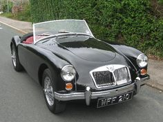 Vintage Cars Classic Secure Auto Shipping Inc This is how we Rock. Classic Sports Cars, British Sports Cars, Classic Cars, British Car, Veteran Car, Mg Cars, Classic Motors, Vintage Cars, Vintage Ideas