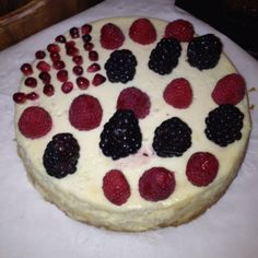 4th of July cheese cake