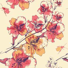 Papel de Parede Floral 1204