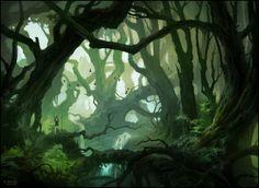 Deep In The Woods II by andreasrocha.deviantart.com on @DeviantArt