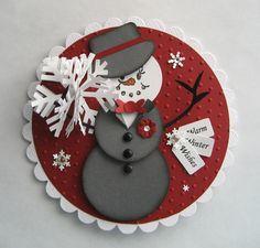 Linda's Stampin Loft: Warm Winter Wishes Noel Christmas, Christmas Paper, Christmas Gift Tags, Xmas Cards, Handmade Christmas, Holiday Cards, Christmas Crafts, Christmas Ideas, Christmas Wreaths