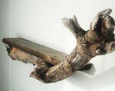 Maine driftwood shelf by Maebells on Etsy, $75.00