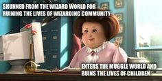 "Oh. My. Lord. It's amazing how every single person in the Potter fandom knows exactly what they are talking about the second the read ""wizarding"""