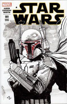 Image result for star wars comic art