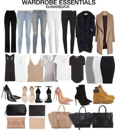 Just some wardrobe essentials coats & jackets outfits, minim Fashion Mode, Fashion Outfits, Womens Fashion, Korean Fashion, Fashion Ideas, Fashion Tips, New Wardrobe, Capsule Wardrobe, Wardrobe Basics