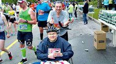 Newfoundland man with MS finishes Boston Marathon with friend's help