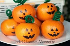 Life Love and Hiccups: Cute Trick or Treat and Decorating Ideas for Halloween