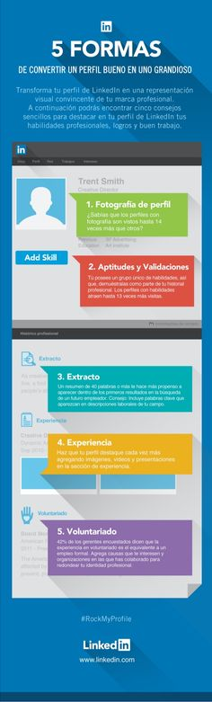 5 formas de convertir un buen perfil de Linkedin en uno grandioso