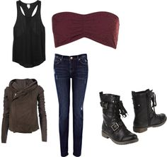 U0026quot;zombie apocalypse gearu0026quot; by ksims721 liked on Polyvore | Style inspiration | Pinterest | Vests ...