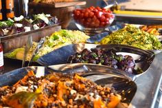 TIP: brunchen in Bluespoon; #Amsterdam Salad bar at Bluespoon Restaurant! #Brunch