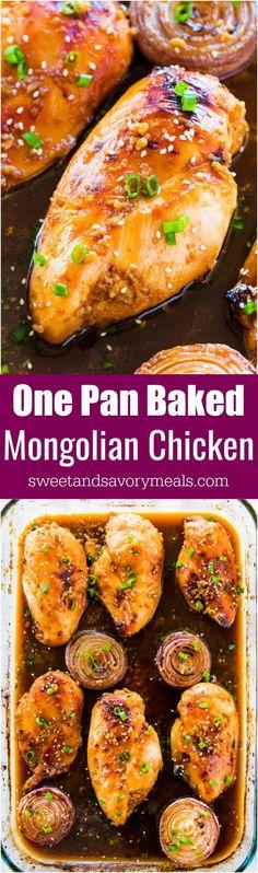 Oven Baked Mongolian