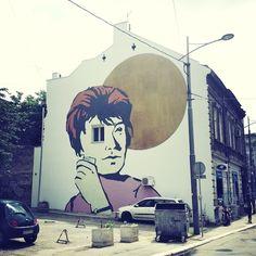 Belgrade. Mural.
