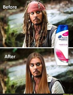 This is why we need head and shoulders or else...
