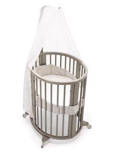 STOKKE SLEEPI Mini Crib Set - Nest Sand