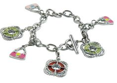 Summer style handbag charms Bracelet Metal /DIY CHARMS BRACELE Gifts
