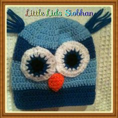 bright eyed owl Knitted Hats, Crochet Hats, Owl, Beanie, Bright, Knitting, Knitting Hats, Tricot, Owls