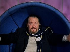 Leo McKern as Number 2 in The Prisoner