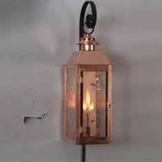 The Vulcan Lantern — Gas or Electric | The Goddess Series Lanterns | Carolina Lanterns