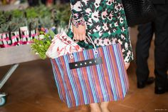 Marni bag, Marni Flower Market, Milan Fashion Week