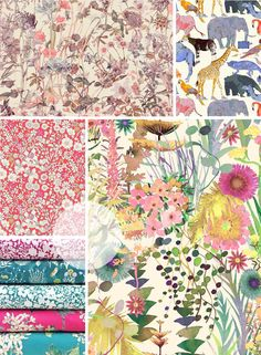 A brand new Liberty Contemporary Classics collection is available now! Featuring the hugely popular Tresco Print