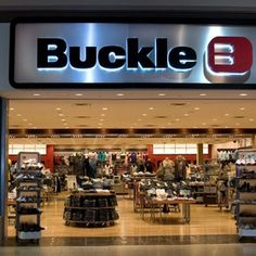 BUCKLE.  Best/Worst store.  The best clothing but the worst and fastest way to spend all of your mulah!  Still love it though. (: