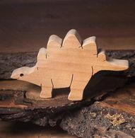 Stegosaurus was a really big, kind herbivorous dinosaur. You can find its scaled-down version between our wooden dinosaur toys. Making Wooden Toys, Handmade Wooden Toys, Animal Templates, Dinosaur Toys, Dino Toys, Dinosaur Pattern, Operation Christmas Child, Pallet Creations, Dinosaurs