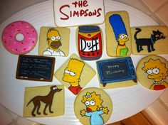 The Simpsons Cookie Assortment