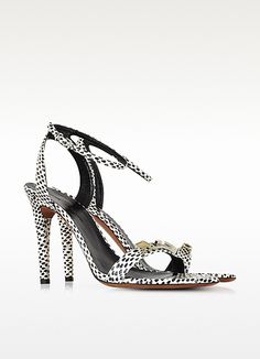 Sandales à talons à pois - Proenza Schouler