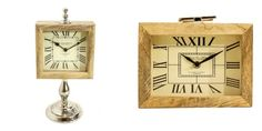 Se ele tiver um estilo clássico, então Relógios super sofisticados e Esculturas são ideais para compor qualquer ambiente.