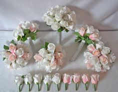 Examples Of Silk Artificial Wedding Flower Sets