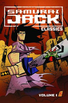 """Jack is back! The hit TV show turned hit comic book returns in this collection of classic Samurai Jack stories. Kicking off with Jack's origin story and continuing through the first of his """"Action Pac Cartoon Games, Cartoon Art, Cartoon Characters, Old School Cartoons, Old Cartoons, Comics Anime, Comic Art, Comic Books, Dragon Ball"""