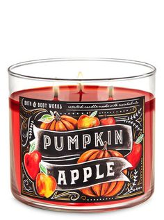 Bath Candles, 3 Wick Candles, Scented Candles, Fall Scents, Bath And Bodyworks, Halloween Items, Body Works, Fragrance, Pumpkin
