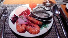 Seafood Feast... One of my fave typical 'monster' meal :)