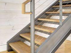 Image result for steel i beam stair stringers