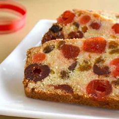 Buttery Light Fruitcake add rum extract and vanilla extract pecans or walnuts