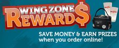 Wing Zone Rewards - simple and clear!