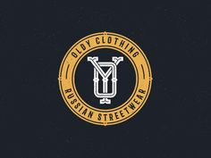 Oldy Clothing designed by Alex Spenser. Connect with them on Dribbble; Football Logo Design, Team Logo Design, Badge Design, Vintage Monogram, Monogram Logo, Soccer Logo, Education Logo, Sports Graphics, Clothing Logo