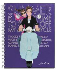 Jordi Labanda Lifestyle Notebook - Motorcycle