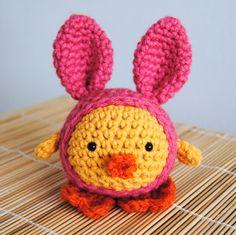 Crochet Easter Egg Chicks for Easter Basket Filler
