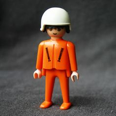 Worker Playmobil Vintage 1974 first generation Souvenirs 62cd87fcaea