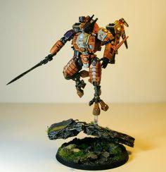 Tau commander painted
