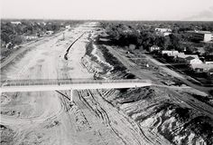 Birth of the Gulf Freeway  On weekends and after the trucks and men left, we had a great place to play.