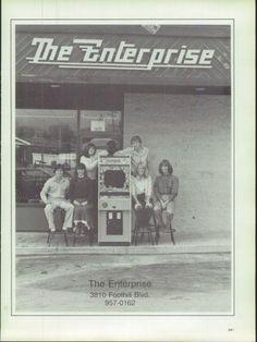 The Enterprise, La Crescenta, CA - My childhood video arcade!