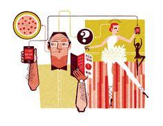 Wall Street Journal Illustrations - See Scotty Design & Illustration