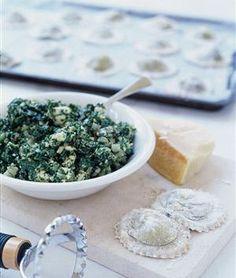 Spinach Filling for Ravioli