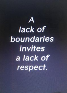In Al-Anon we learn how to set healthy boundaries.