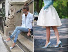 Sapato Azul Claro!