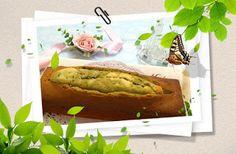 concon 煮意 blog: 宇治綠茶紅豆磅蛋糕