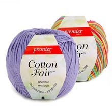 Cotton Fair® Solids and Multis - Premier Yarns