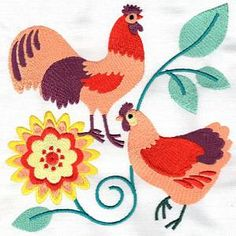 OregonPatchWorks.com - Sets - Chickens and Roosters